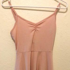 Light pink, spaghetti strap dress - Forever 21